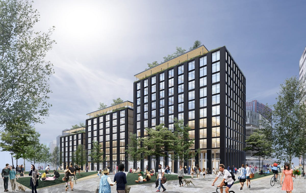 Largest Timber Constructed Office Building In The Nation