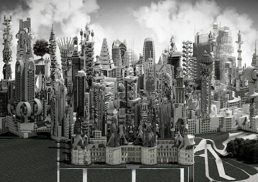 'Figure Figure', project by Akhil Mathew and Adam Wells in Elena Manferdini's Vertical Studio