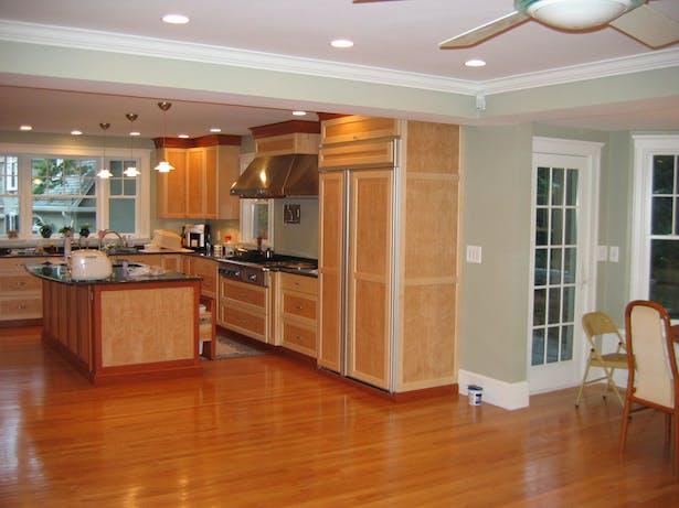 New Kitchen & New Living