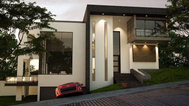 Exterior proposal rendering