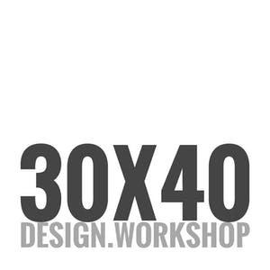 30x40 Design Workshop Archinect