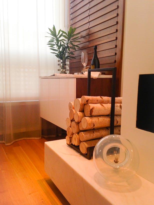 Living Room - Custom Bar Unit