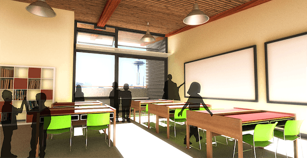 Typical classroom design