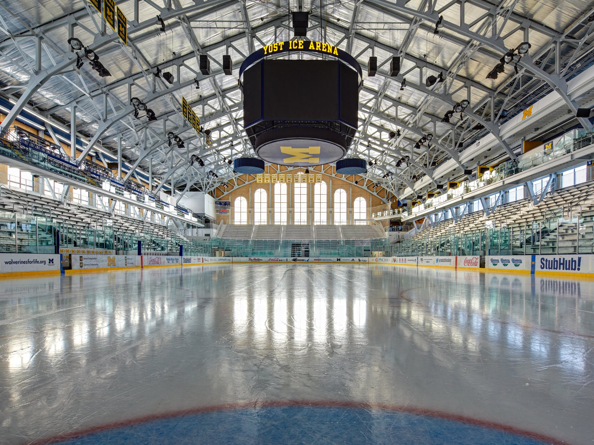 U Of M Yost Ice Arena Rossetti Archinect