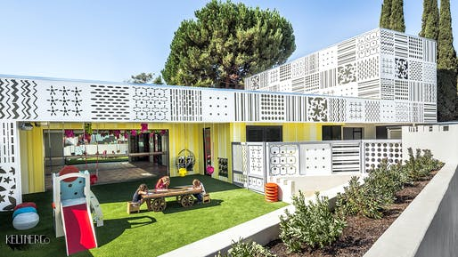 DESIGN AWARD - HONOR: KeltnerCo Architecture + Design, Camelot Kids Child Development Center, Los Angeles, CA. Photo: Kevin Krupitzer.