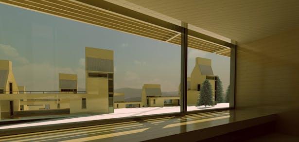interior view-south, level 1