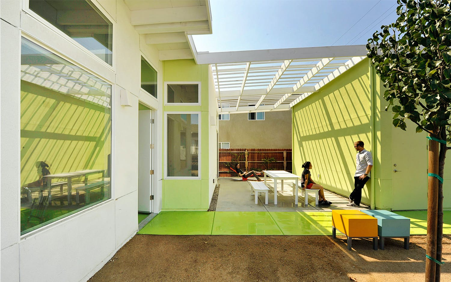 Merit Award Affordable Infill In The Inner City South Los Angeles CA By Lehrer Architects LA