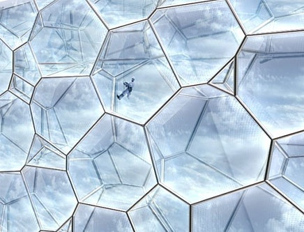 Beijing Cubism How Etfe Revolutionized The Bubble Features Archinect