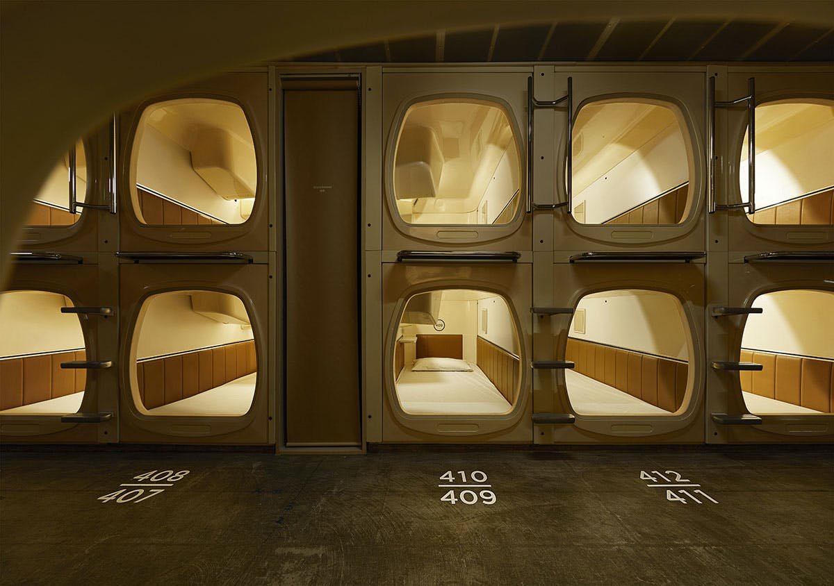 Image result for capsule hotel japan
