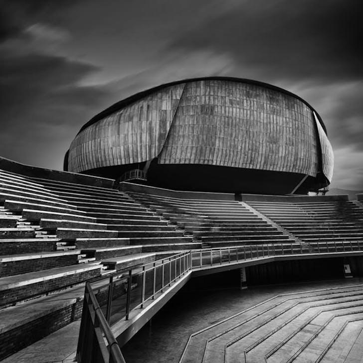Parco della Musica, Rome. Architect Renzo Piano © Pygmalion Karatzas