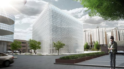 White Diamond: South exterior (Image: studio SH)