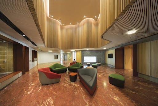 Civic, Culture & Transport Winner: Australian Embassy by BVN. Image credit: John Gollings.