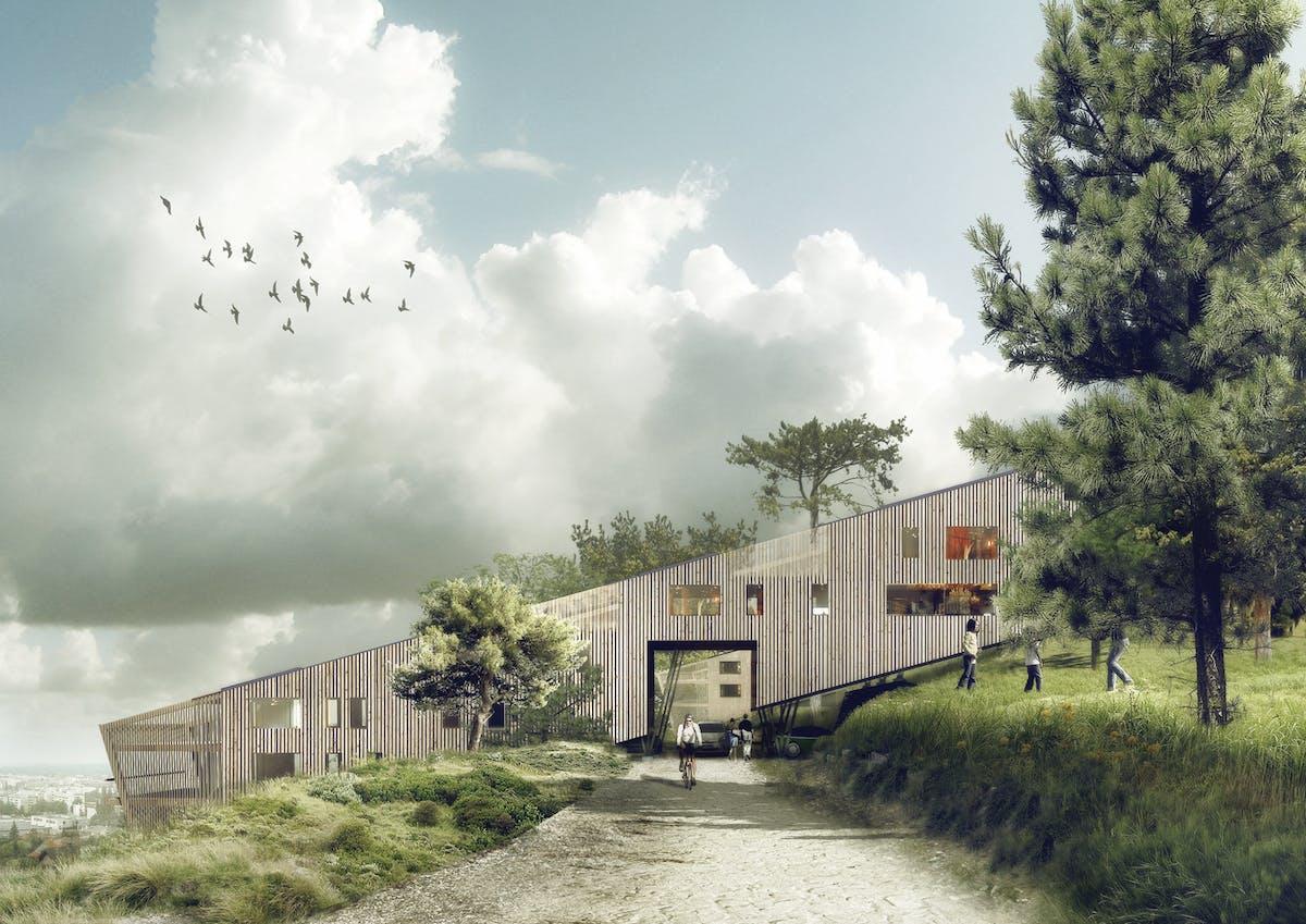 22 housing in annemasse nadau lavergne architects for Architecte annemasse