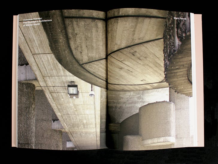 Spread from 'Well, Well, Well'. Courtesy of Harvard Design Magazine.