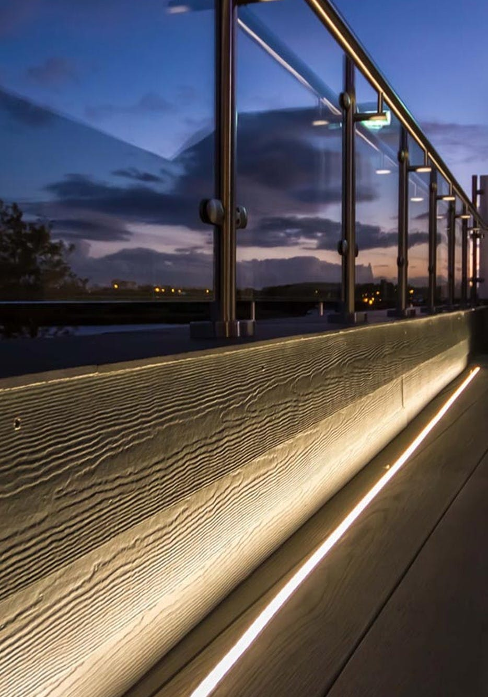 Dustin Floor Recessed Linear Lights