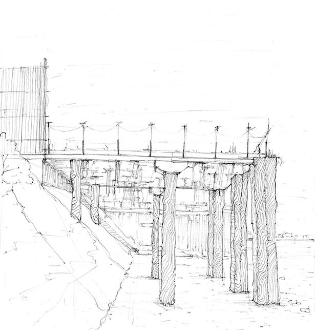 Enderby Wharf Jetty