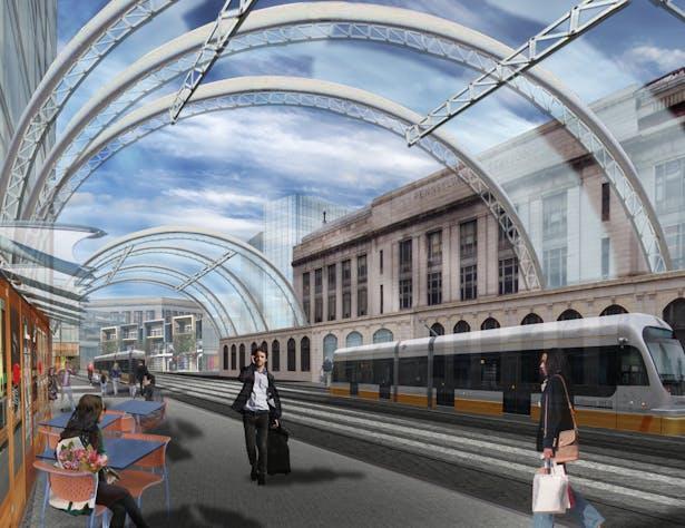 New Transit Node- 'Station Centre'