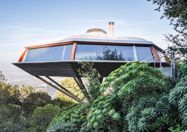 """Chemosphere, from """"Mid-Century Modern Architecture Travel Guide: West Coast USA"""" by Sam Lubell. Photo: Darren Bradley, courtesy of Phaidon."""