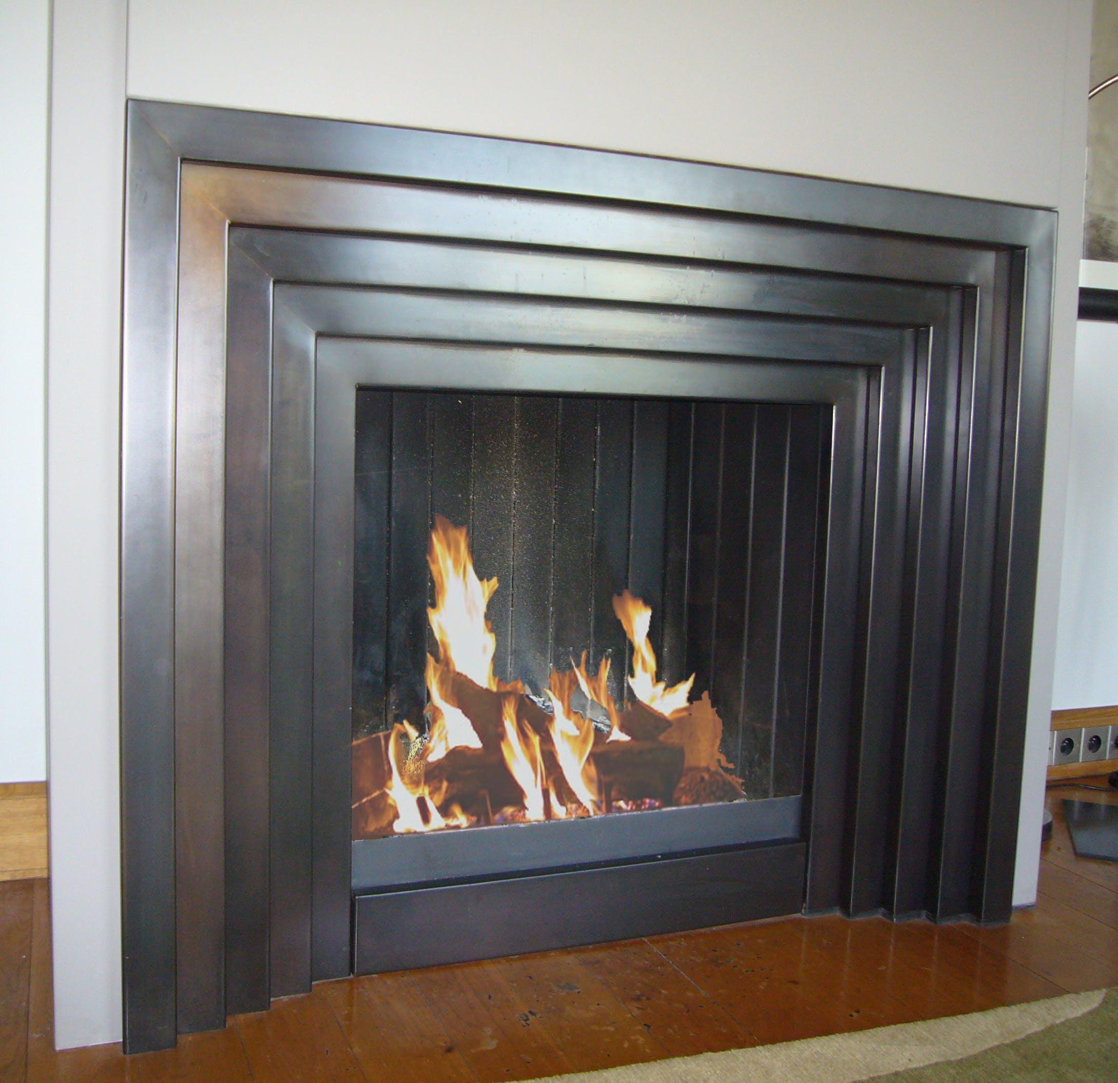 Art Deco fireplace / cheminée Art Déco | BLOCH DESIGN | Archinect