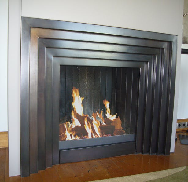 Bloch Design art deco fireplace 1