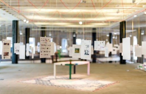 'Letters to the Mayor: Rotterdam' exhibition at Het Nieuwe Instituut. Image: Het Nieuwe Instituut.