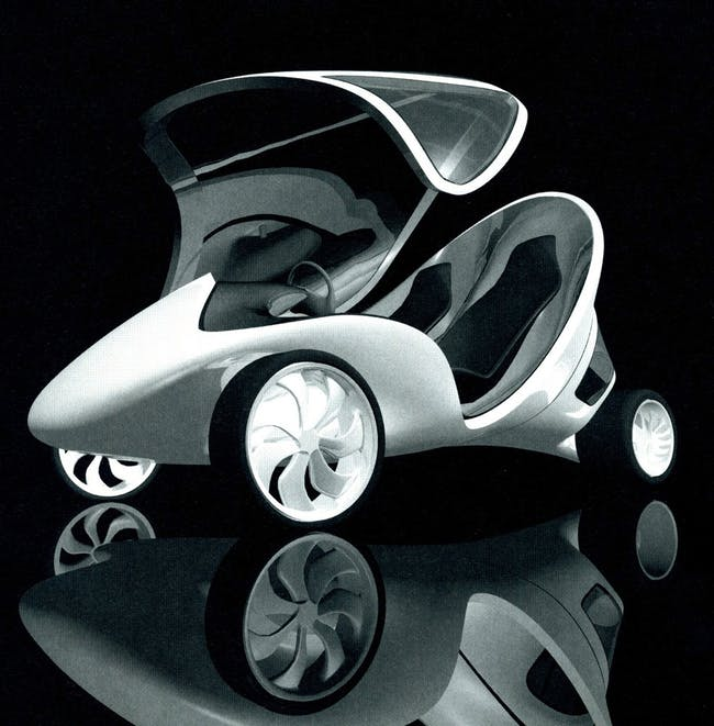 Z Car by Zaha Hadid. Image courtesy of ZHA