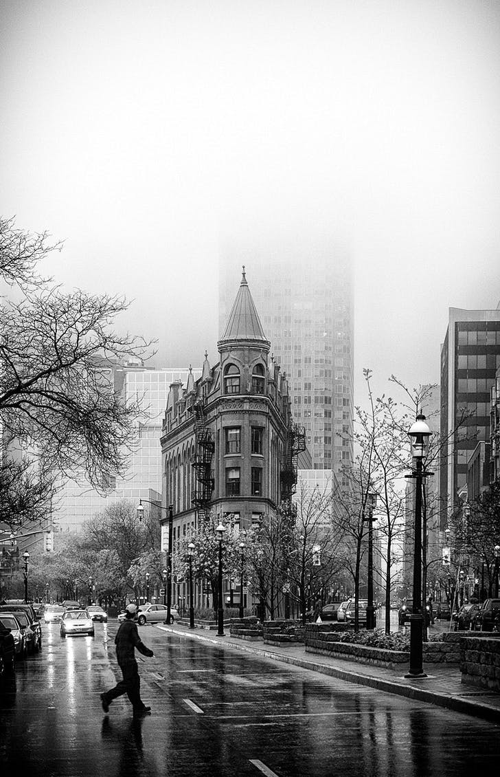 Flatiron Building, Toronto, ON © Sam Javanrouh