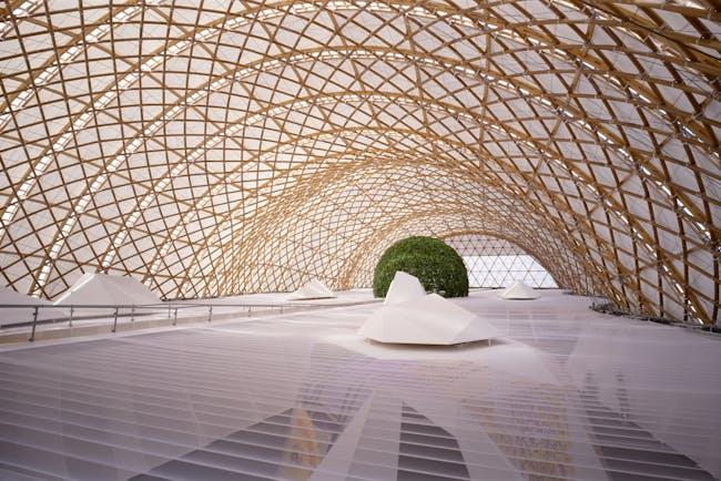 Japan Pavilion, Expo 2000 Hannover, 2000, Hannover, Germany. Photo by Hiroyuki Hirai