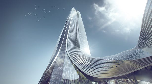 Hengqin International Financial Center, Zhuhai, China, by Aedas