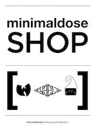 Minimaldose Shop Sign