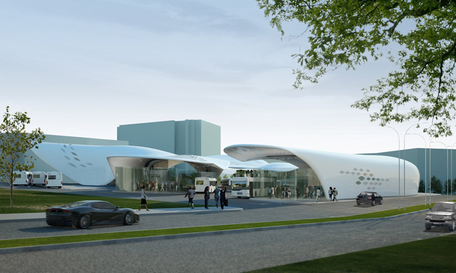 Stoke On Trent Bus Station Competition Public Choice