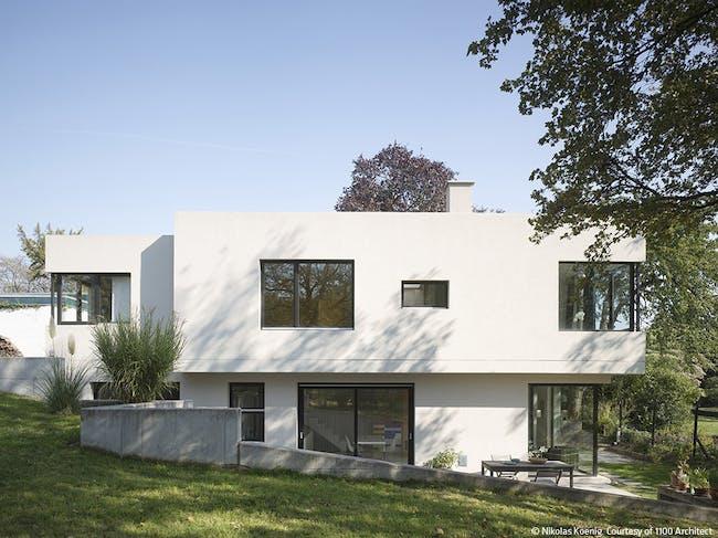House in Bad Soden am Taunus, Germany by 1100 Architect; Photo: Nikolas Koenig