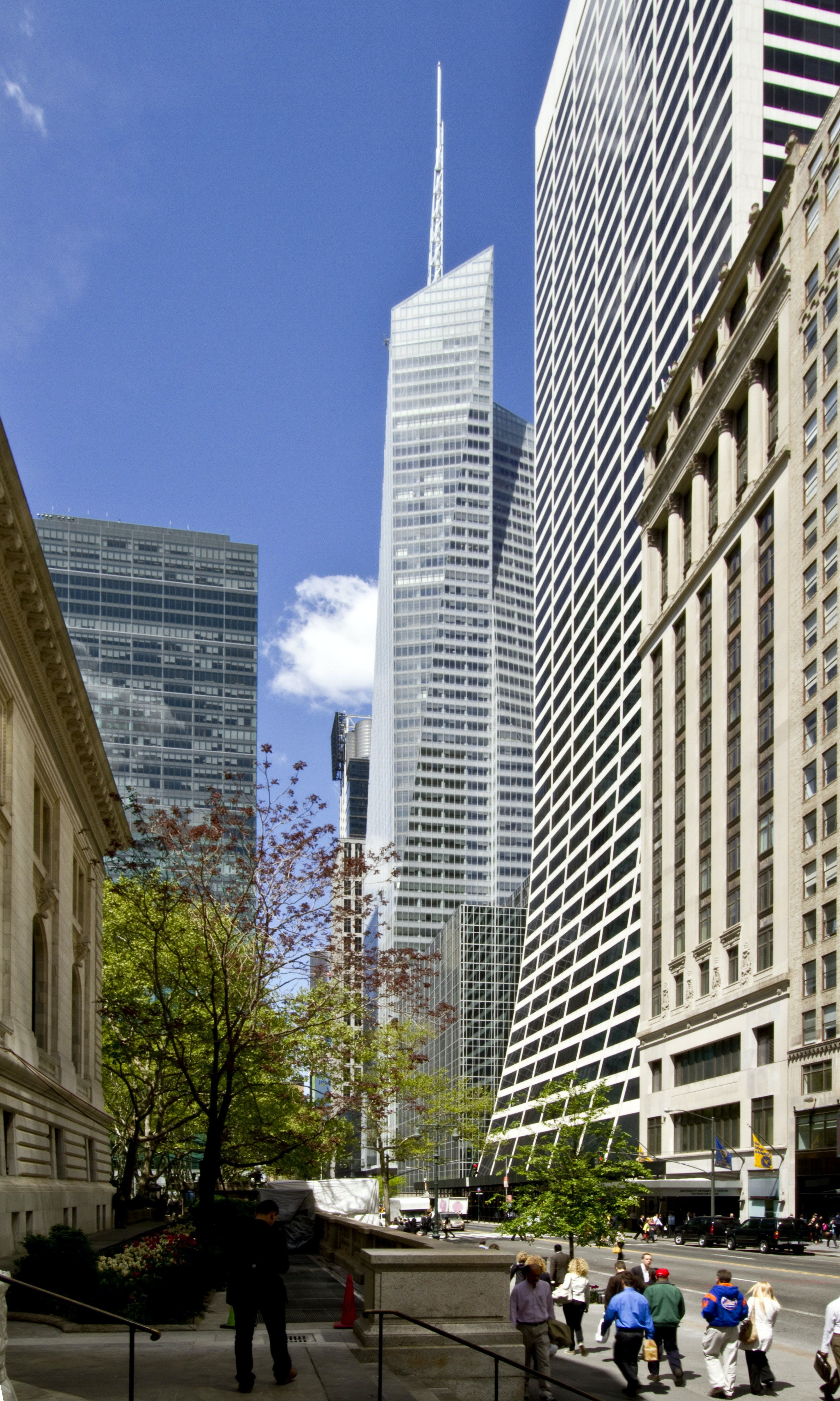 a research on the architectural design of the bank of america tower Parking facilities can also combine with other building types as mixed-use structures due to their very function  what this means to future architectural design.