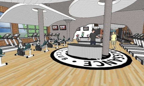 Upper Level Training Area