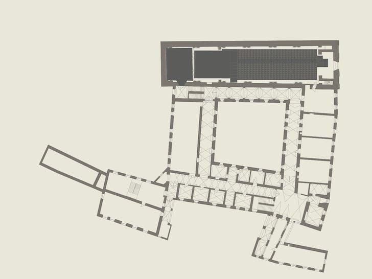 First floor plan. Image: ENOTA