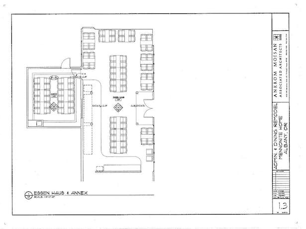 Flooring and Furniture Plan- Essen Haus & Annex