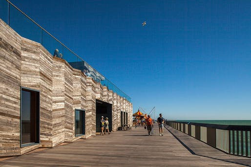 Hastings Pier by drMM Architects. Photo: Francesco Montaguti.