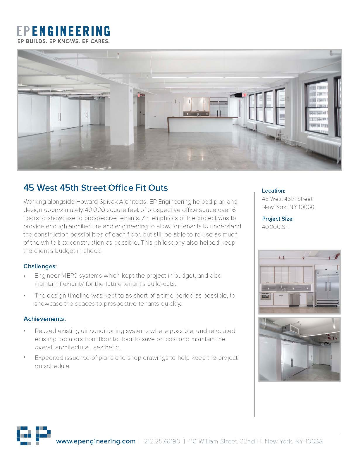 office build out project plan