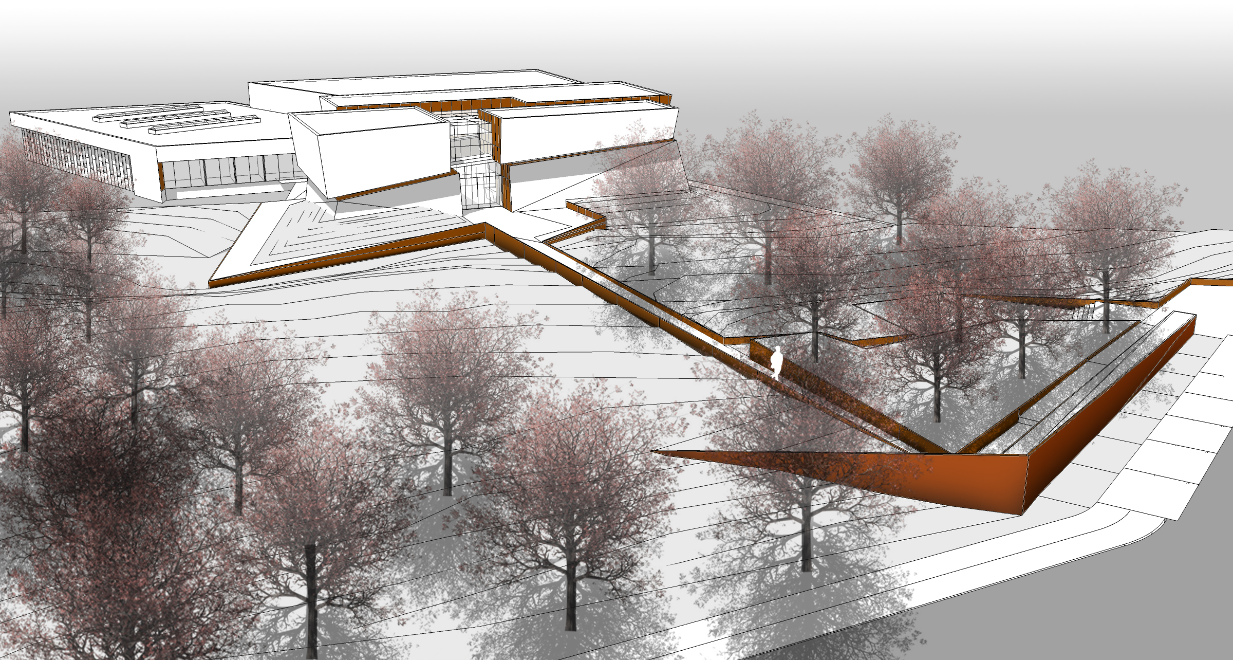 National museum of health and medicine landscape architecture