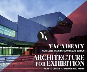 YACademy launches Architecture for Exhibition, a high-level training course offering 8 scholarships and internships in internationally-renowned architectural firms