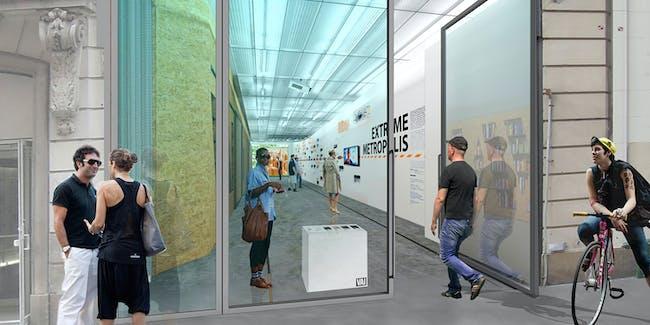 EFGH: Exhibition hall