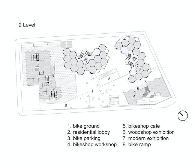 Level 2 plan. Image courtesy of Workshop XZ.