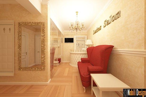 Design interior salon cosmetica - Amenajare salon de infrumusetare