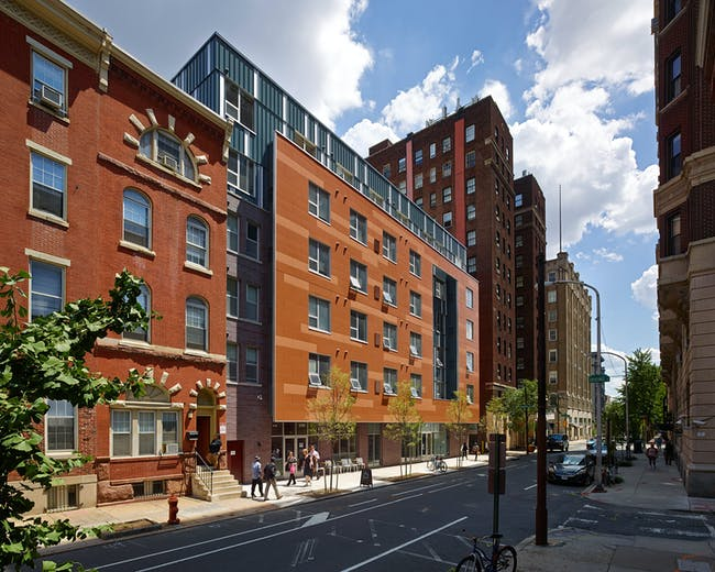 John C. Anderson Apartments (JCAA); Philadelphia - WRT, LLC. Photo © Jeffrey Totaro