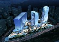 China Charcoal Resort Hotel and Corporate Headquarters masterplan, Zhuhai, China