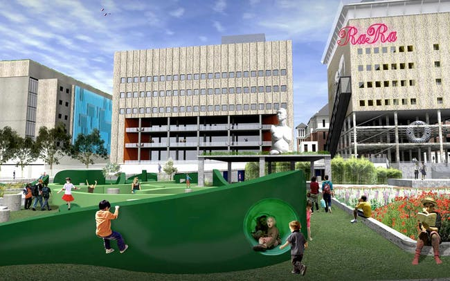 Royal Adelaide Hospital site competition - First prize: SLASH with Phillips/Pilkington Architects