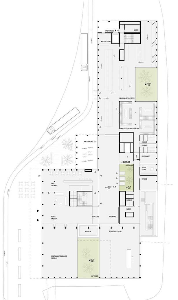 ground floor plan © HOLODECK architects