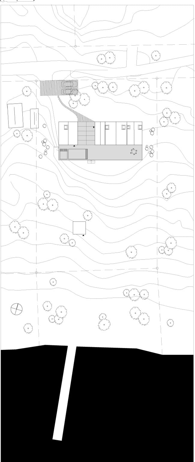 Site plan. Image courtesy of Tham & Videgård Arkitekter