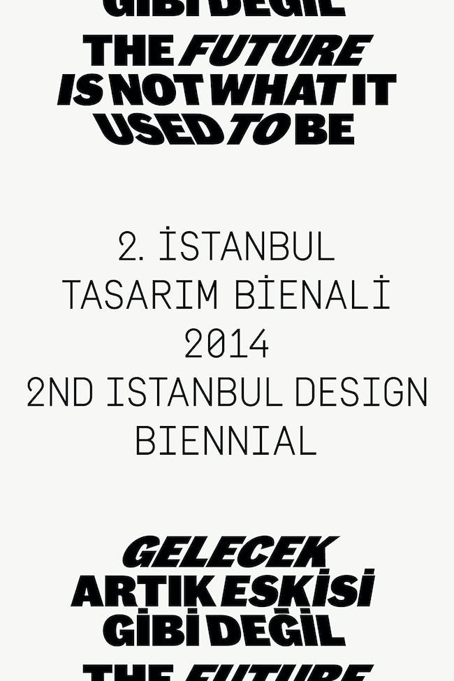 Istanbul Design Biennial-Identity-image: Project Projects. Photo credit: Courtesy IKSV