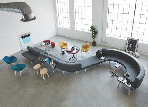 Best Furniture System - Keilhauer: Hangout Collection, by EOOS. Photo credit: Azure